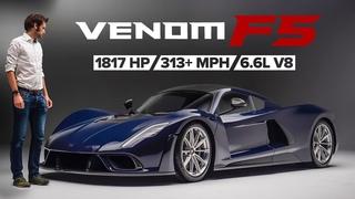 NEW Hennessey Venom F5: America's Latest Hypercar Sounds Like THUNDER   Carfection 4K