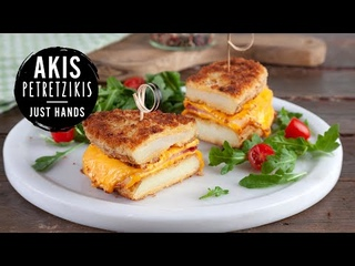 Potato Sandwich   Akis Petretzikis