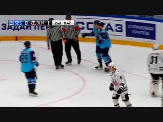 «сибирские снайперы» – «белые медведи» (чемпионат мхл 18/19) все голы матча