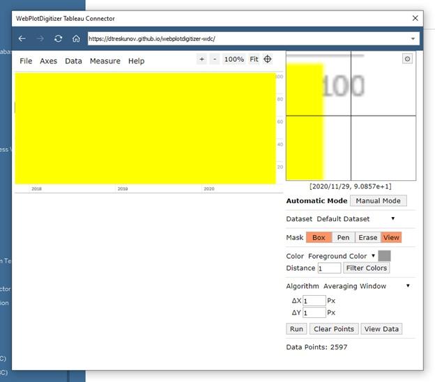 Извлечение данных из графиков при помощи Tableau Web Data Connector (WDC) на примере анализа индекса страха и жадности (Fear and Greed Index), изображение №24