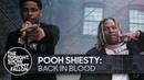 Выступление Pooh Shiesty и Lil Durk с треком «Back In Blood» на шоу Джимми Фэллона