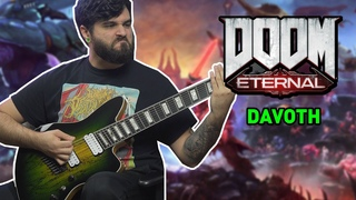 DAVOTH (DOOM Eternal: The Ancient Gods Part 2 OST) // 8 String Guitar Cover