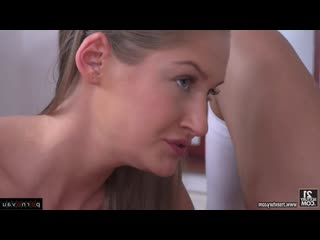 Angela allison & tiffany tatum [ with talk &  in the office &  group / cumshot in mouth , shaved , skirt , pussy , deep blowjob
