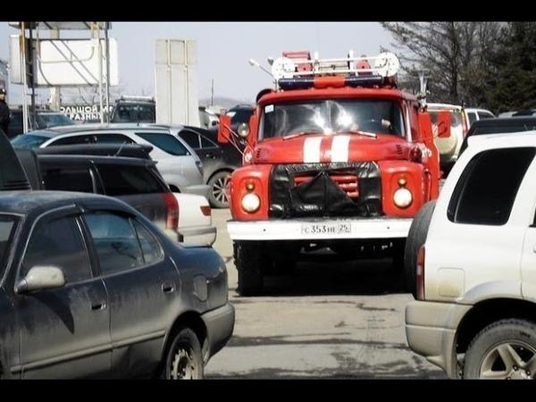 Экипаж идет на таран скорые и пожарные смогут таранить мешающие машины 07 12 2016