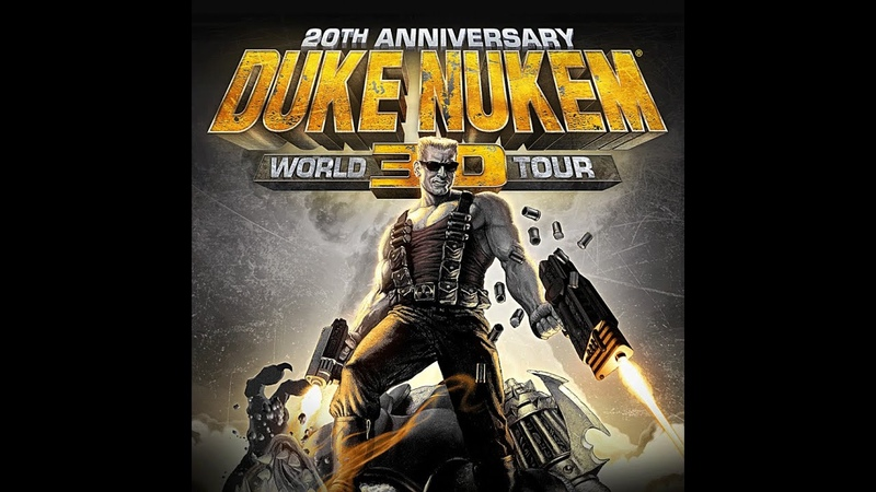 Duke Nukem 3D 20th Anniversary World Tour E4M5 Прохождение на Выкуси