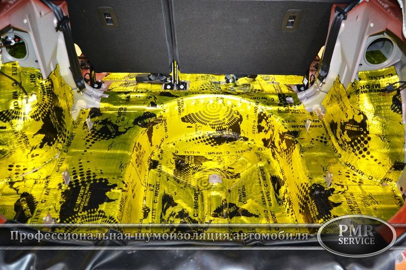 Шумоизоляция Lada Vesta SW Cross, изображение №7