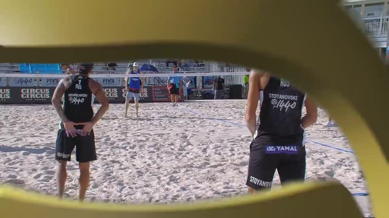 Las Vegas 4 Star 2018 FIVB Beach Volleyball World Tour Men Bronze Medal Matc
