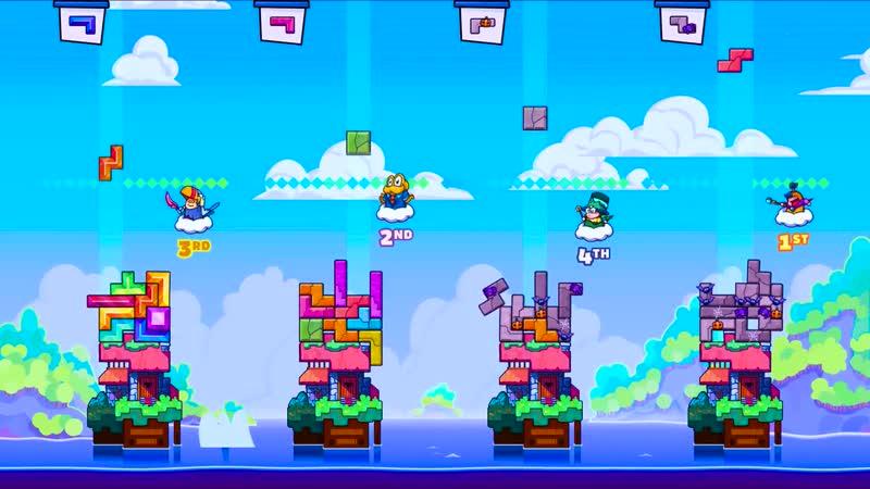 Tricky Towers Самый большой блок Упоротые игры