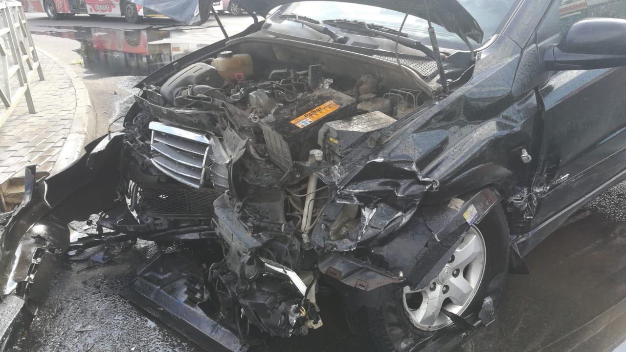 ДТП на перекрестке могло привести к пожару  — Изображение 2