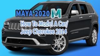 3D Car Modeling Tutorial pt.2 | Autodesk Maya | Modeling a Jeep Cherokee 2014