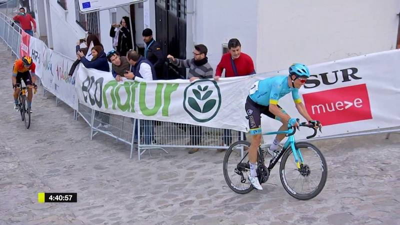 Jakob Fuglsang wins the opening stage of Vuelta a Andalucia
