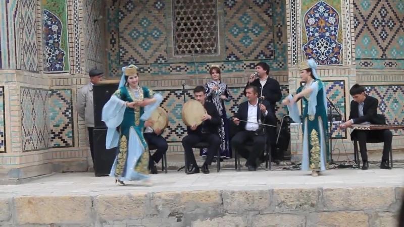 Raqsi Navruzi dar Buxoro Navruz Nowruz dance in Bukhara