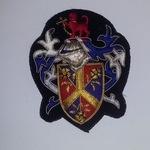 Blazer Pocket Patch Bullion wire Embroidery Custom made