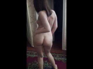 Голая Оля танцует (частное, ню, шлюха)