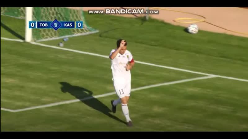 3-tour KPL 2020, Tobol-Caspy Azat Nurgaliyev goal