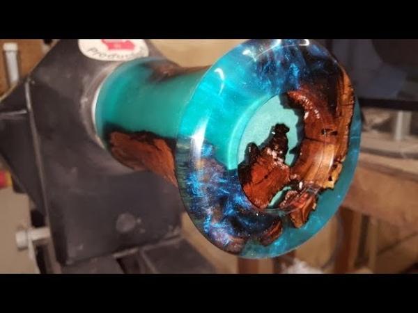 Woodturning - Swamp Stick Vase