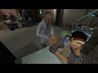 Alyx Vance - doggystyle; vaginal fucked; 3D sex porno hentai; [Half-Life 2]