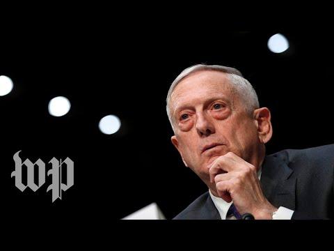 Mattis discusses U S National Defense Strategy