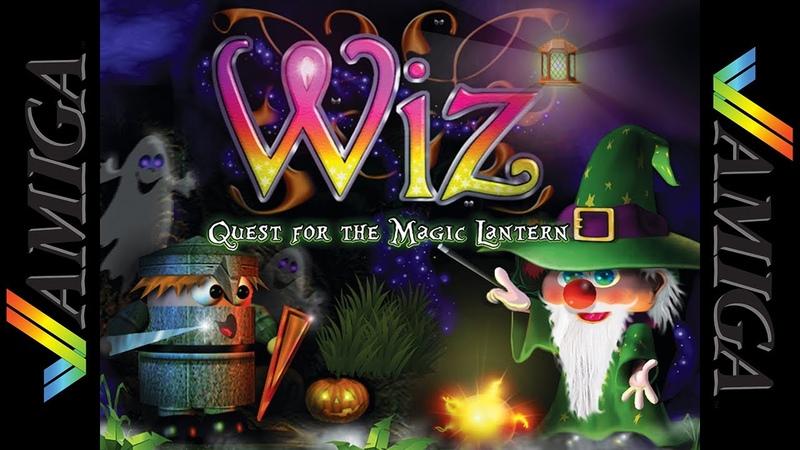 Wiz Quest for the Magic Lantern Amiga AGA