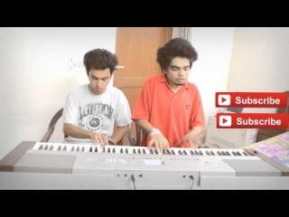 Muskurane Ki Wajah - Citylights   PIANO DUET