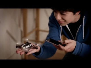 Parrot MiniDrone Rolling Spider official video