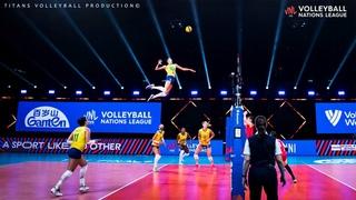 Unbelievable Volleyball Spikes by Gabriela Braga Guimarães (GABI) | VNL 2021