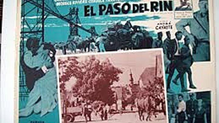EL PASO DEL RHIN 1960 de André Cayatte con Charles Aznavour Nicole Courcel Georges Riviere by Refasi