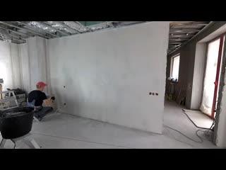 Как сделать шпаклевку стен под обои от А до Я Классическии способ. Возможные оши
