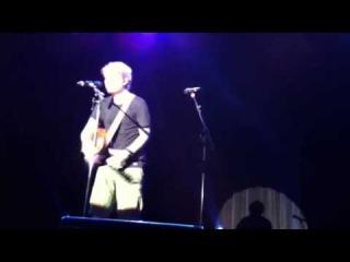 Ed sheeran Make it Rain(Japan tour Osaka 2014/8/6)