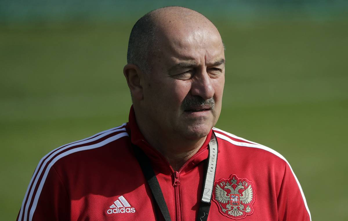 Станислав Черчесов. Сборная России по футболу