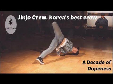 Jinjo crew Korea's best breaking crew Decade of Dopeness 8