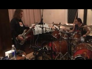Nick Menza & David Ellefson Polaris - Bass & Drum
