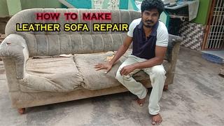 how to make sofa leather sofa repair sofa making sofa set creating sofa making process  simple sofa