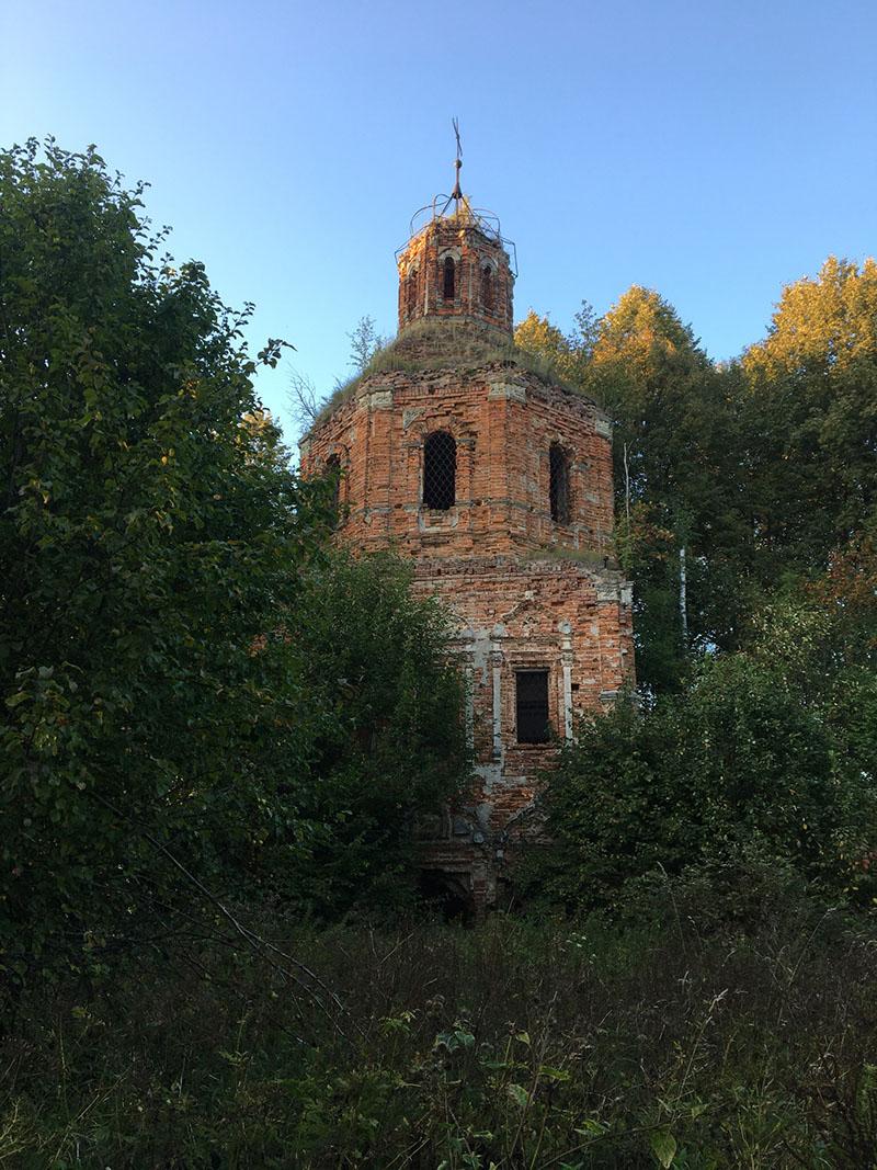 Калужская область. Ферзиковский район. д. Богородское. Казанская церковь