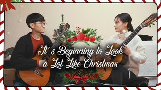 Le Due - It's Beginning to Look a Lot Like Christmas (Guitar Duo ver.)
