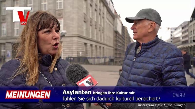 KULTUR - Asylanten kulturelle Bereicherung für Deutschland