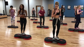 Quickie 25 Minute Beginner/intermediate Step Workout Part I