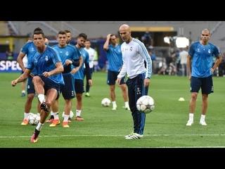 Cristiano Ronaldo удивительные трюки на тренировках