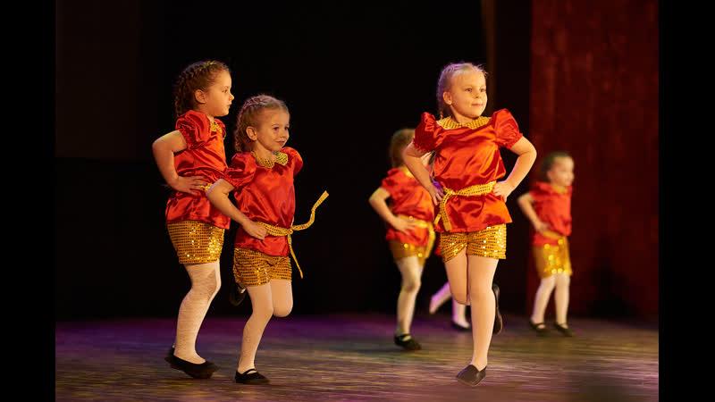 Детский отчетный концерт студии Dance Life в Белгороде Современный эстрадный танец филиал Мега Гринн дети группа 4 5 лет