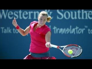 2014 Cincinnati Elina Svitolina vs Petra Kvitova PART 1 HD