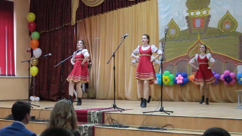 Танец Василис Премудрых 8 9 классы Выпускной 23.06.2017