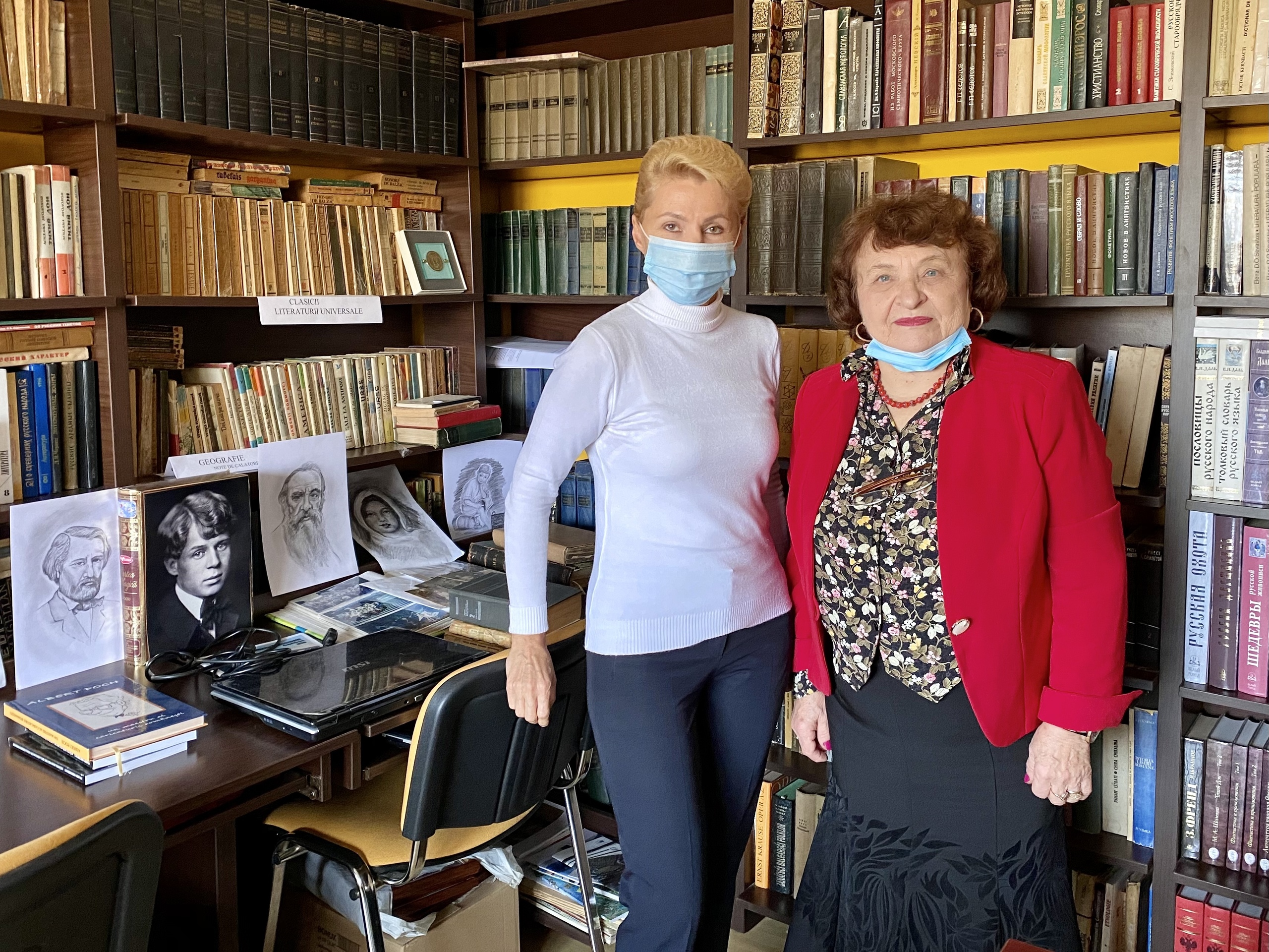 Despre vizita Consulului general T.M.Grushko la Centrul cultural Vicol Ivanov (Tulcea)